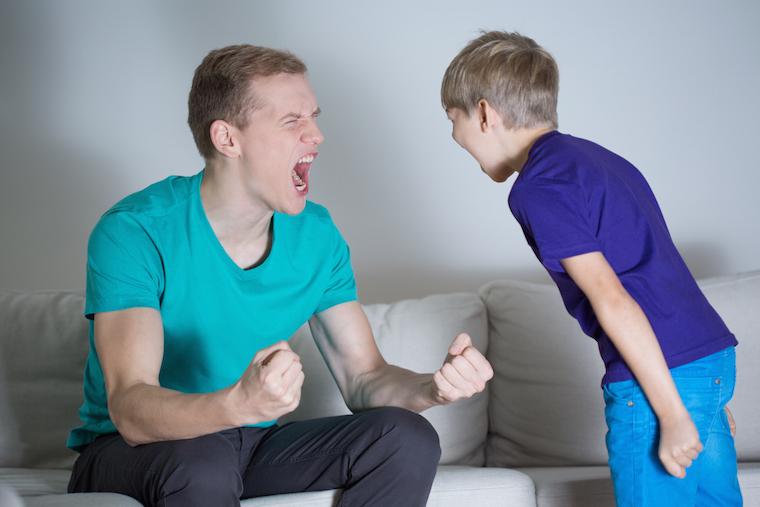 Rozmowa z dzieckiem pod wpływem nerwów nie ma sensu