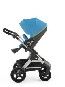 Stokke Trailz 140402-8I5935 Seat Urban Blue